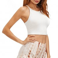 Cut Out Crop Top Manufacturer Wholesale Private Label Clothing Supplier