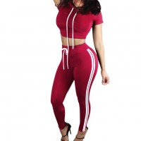 Hooded Crop Top Manufacturer Wholesale Private Label Clothing Supplier