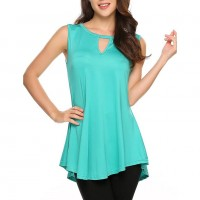 Keyhole Tank Top Manufacturer Wholesale Private Label Clothing Supplier