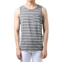 Men Striped Tank Top Manufacturer Wholesale Private Label Clothing Supplier