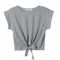 Short Sleeves Crop Top Manufacturer Wholesale Private Label Clothing Supplier