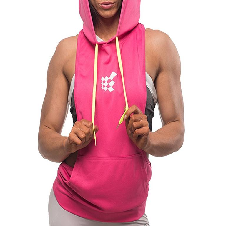 Wholesale Women Hooded Tank Top Supplier Private Label Clothing Manufacturer