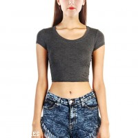 Workout Crop Top Manufacturer Wholesale Private Label Clothing Supplier